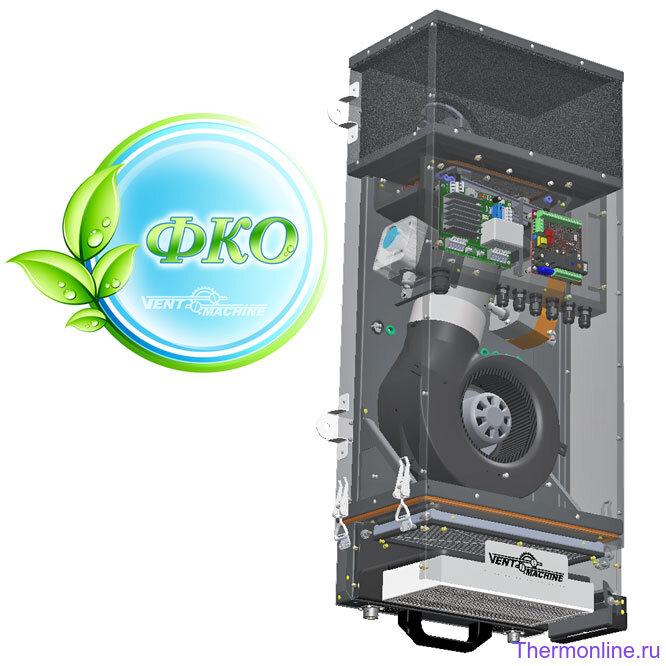Приточная вентиляционная установка VENTMACHINE V-STAT FKO 4A Zentec