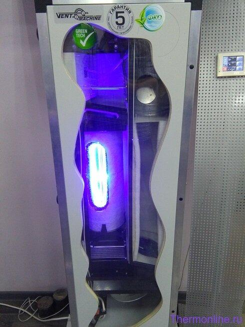 Приточная вентиляционная установка VENTMACHINE ПВУ-350 EC GTC