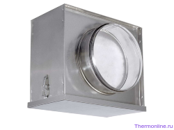 Воздушный фильтр-бокс с фильтром для круглых воздуховодов Shuft FBCr 500